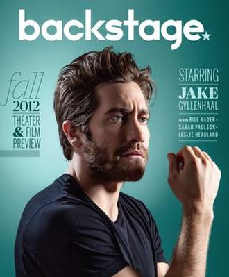 Backstage (magazine) - The first issue of the new glossy magazine version of Backstage, launched on August 30, 2012.