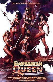 <i>Barbarian Queen</i> 1985 film by Héctor Olivera