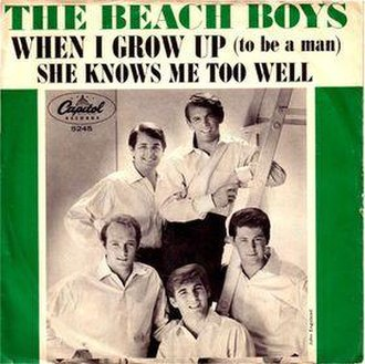 When I Grow Up (To Be a Man) - Image: Beach Boys When I Grow Up (to be a man)