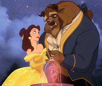 Beast (Disney) - The Beast with Belle.