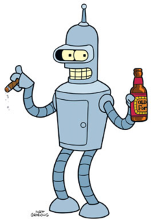 Image result for futurama bender