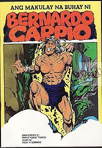 Bernardo Carpio story as depicted in the comics.