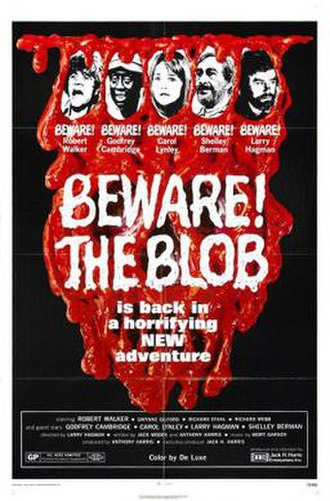Beware! The Blob - Theatrical release poster