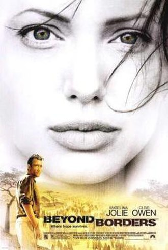 Beyond Borders (film) - Theatrical poster for Beyond Borders