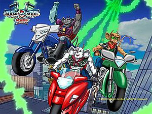 Biker Mice from Mars (2006 TV series) - U. S. Promotional Poster