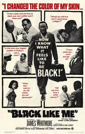 Black Like Me (film) - Theatrical release poster