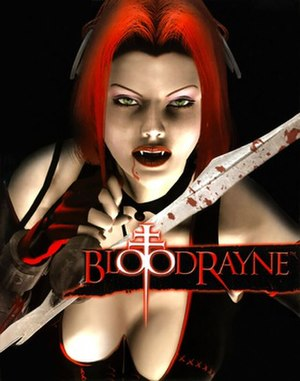 BloodRayne - Image: Blood Rayne Videogame Cover