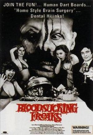 Blood Sucking Freaks - Movie poster for Blood Sucking Freaks