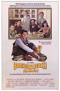 <i>Brighton Beach Memoirs</i> (film) 1986 film by Gene Saks