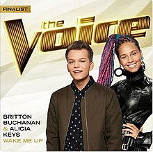 Britton Buchanan, Alicia Keys - Wake Me Up cover.jpg
