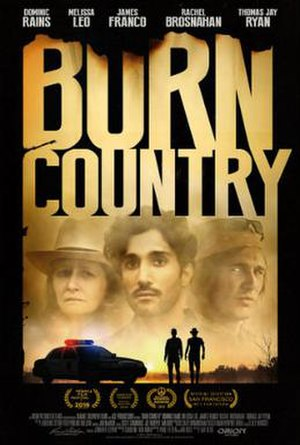 Burn Country - Theatrical release poster