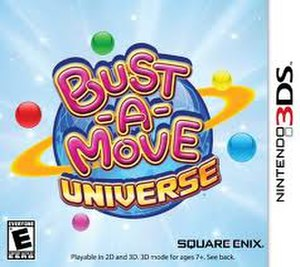 Bust-a-Move Universe - Image: Bust A Move Universe cover