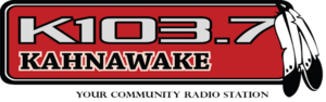 CKRK-FM - Image: CKRK 103.7Kahnawake logo