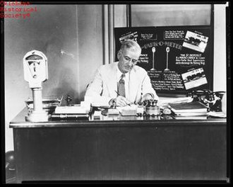 Carl Magee - Magee at desk