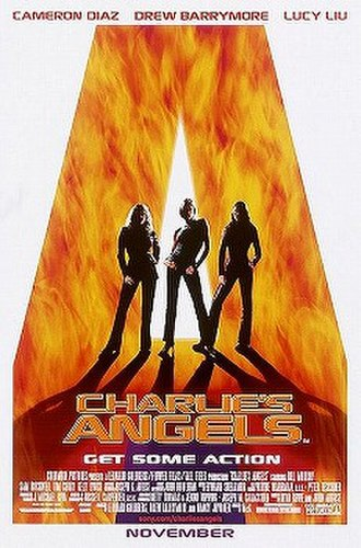 Charlie's Angels (2000 film) - Theatrical release poster