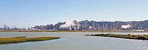 Chevron Richmond Refinery - Chevron Richmond Refinery, August 2017