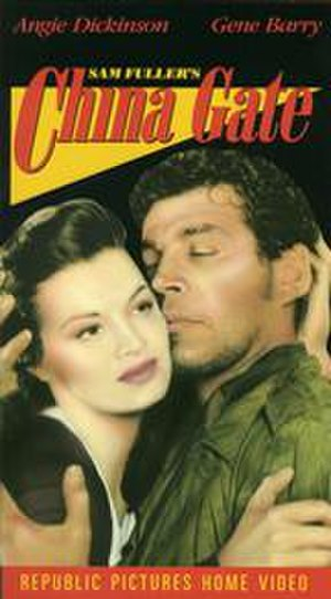 China Gate (1957 film) - VHS cover