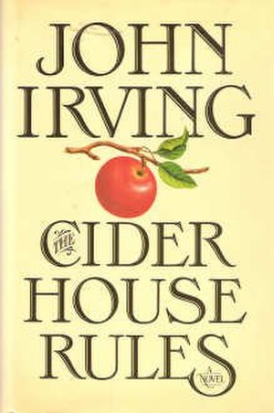 The Cider House Rules - First edition cover