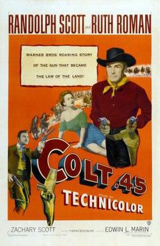 Colt .45 (film) - Image: Colt .45 Film Poster