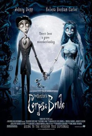Corpse Bride - Theatrical release poster
