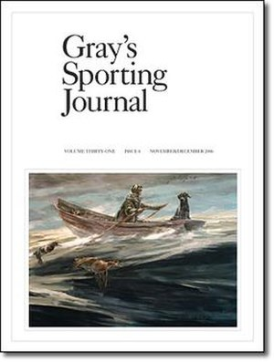 Gray's Sporting Journal - The November/December 2006 cover of Gray's Sporting Journal.
