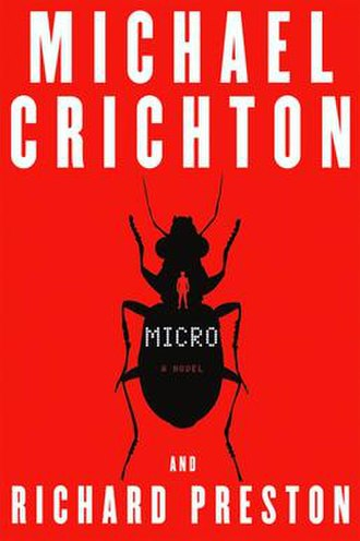 Micro (novel) - First edition cover