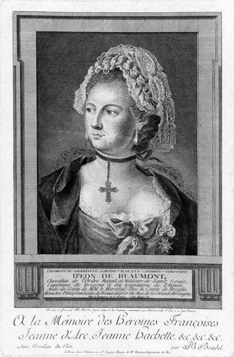 Sans contrefaçon - 18th century transvestite Chevalier d'Eon is mentioned in the lyrics of the song.