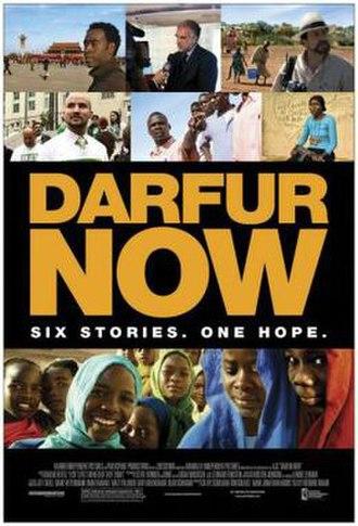 Darfur Now - Promotional poster