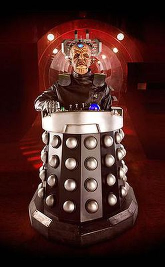 Davros - Davros, as he looked in both 2008 and 2015, played by Julian Bleach