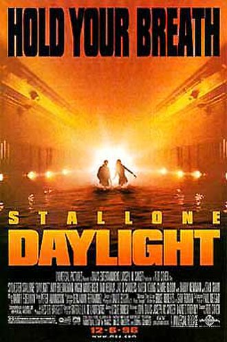 Daylight (1996 film) - Theatrical release poster