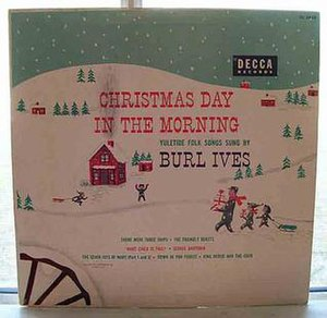 Christmas Day in the Morning - Image: Decca DL5428