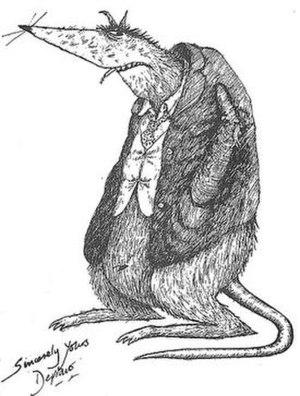 Grizedale College, Lancaster - Depravo the Rat
