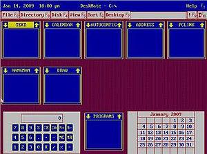 DeskMate - Image: Desk Mate 3.02
