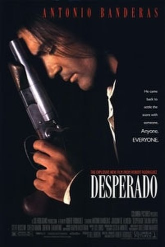 Desperado (film) - Theatrical release poster