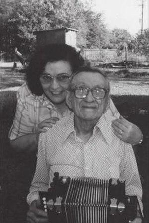 Dewey Segura - Dewey Segura with his daughter Irene.