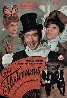 <i>Die Fledermaus</i> (1962 film) 1962 Austrian musical film directed by Géza von Cziffra