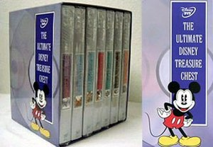 "Walt Disney Treasures - ""The Ultimate Disney Treasure Chest"" -  Re-packaged titles, without the tin cases"