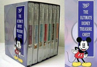 """Walt Disney Treasures - """"The Ultimate Disney Treasure Chest"""" -  Re-packaged titles, without the tin cases"""
