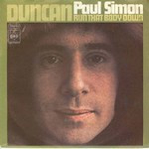 Duncan (Paul Simon song) - Image: Duncan cover