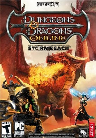 Dungeons & Dragons Online - Original cover art