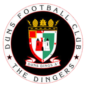 Duns F.C. - Image: Dunslogo