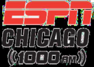 WMVP - Image: ESPN Radio 1000 2012