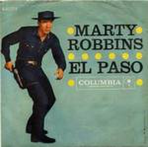 El Paso (song) - Image: El Paso by Marty Robbins single cover