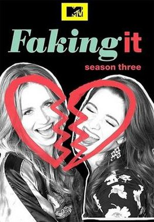 Faking It (season 3) - Promotional poster and DVD cover art