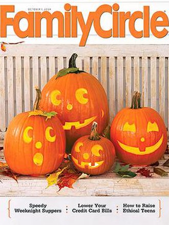 Family Circle - October 1, 2009, cover