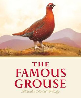 The Famous Grouse - Image: Famous Grouse logo, 2012