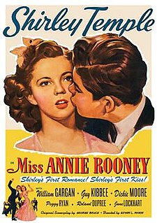 <i>Miss Annie Rooney</i> 1942 film by Edwin L. Marin