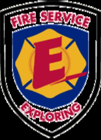 Fire Service Exploring - Image: Fire Service Exploring