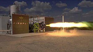 Firefly Space Systems - FireFly FRE-R1 engine test, September 2015