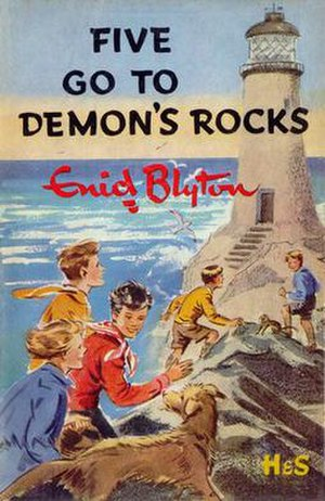 Five Go to Demon's Rocks - First edition